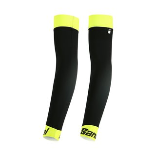MID arm warmers fluo yellow